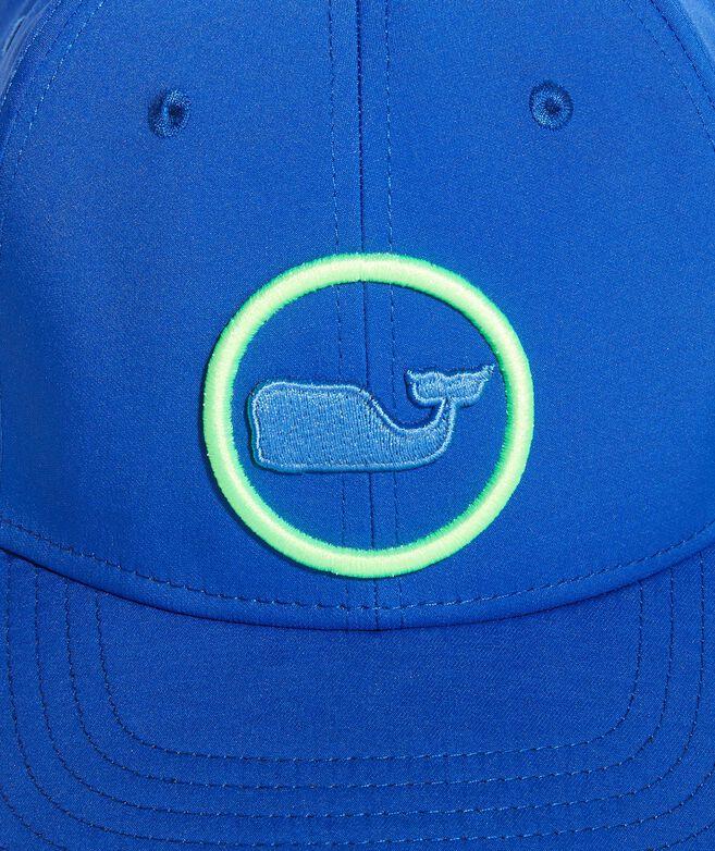 Neon Whale Dot On-The-Go Baseball Hat