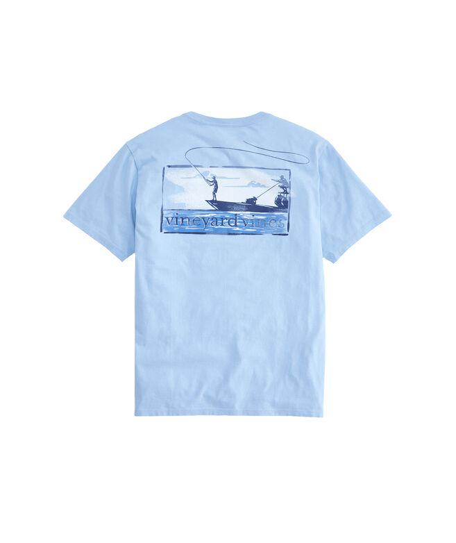 926cee74 Shop Flats Boat Fishing T-Shirt at vineyard vines