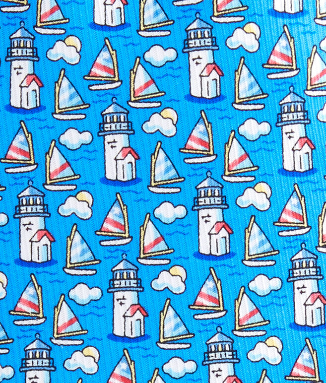 Nantucket Lighthouse & Cloud Tie