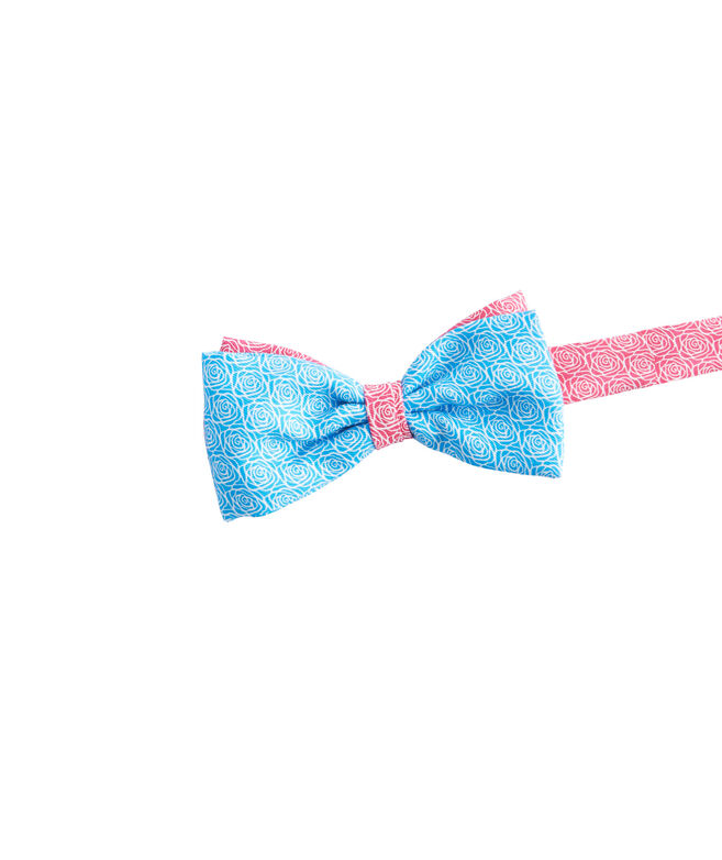 Boys 2-Panel Rose Bow Tie