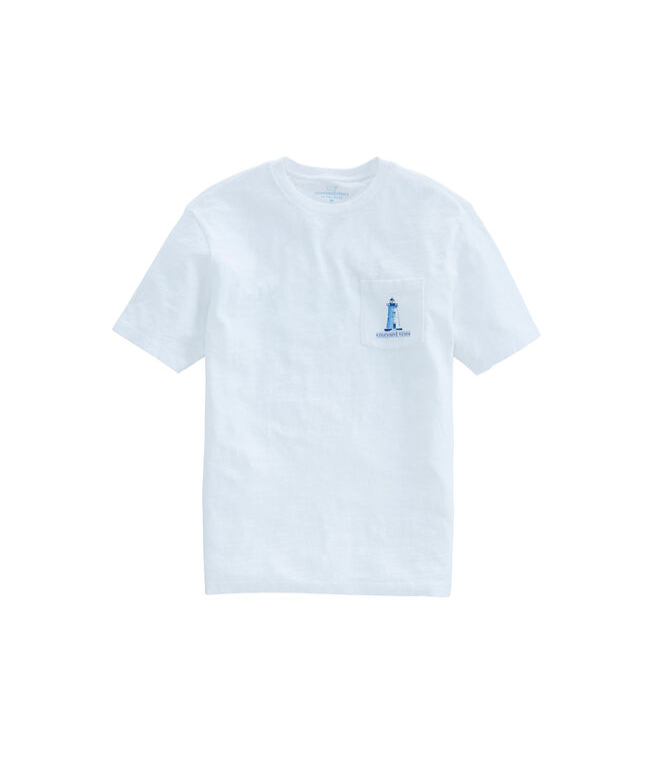 Slub Tica Lighthouse Pocket T-Shirt