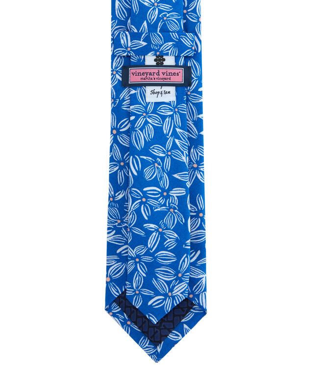 Kennedy Linear Floral Skinny Tie