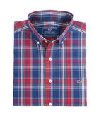 Red Plaid Classic Tucker Shirt