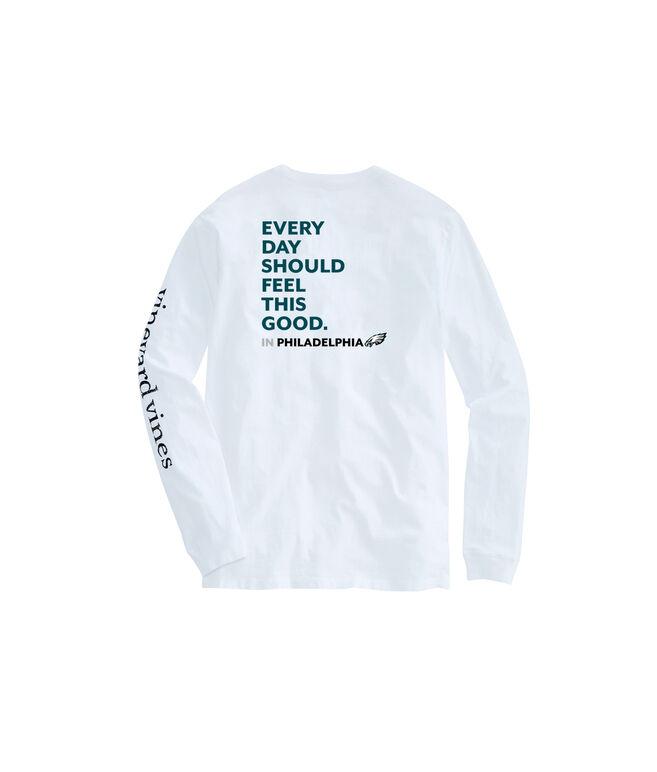 Adult Eagles Long-Sleeve EDSFTG T-Shirt