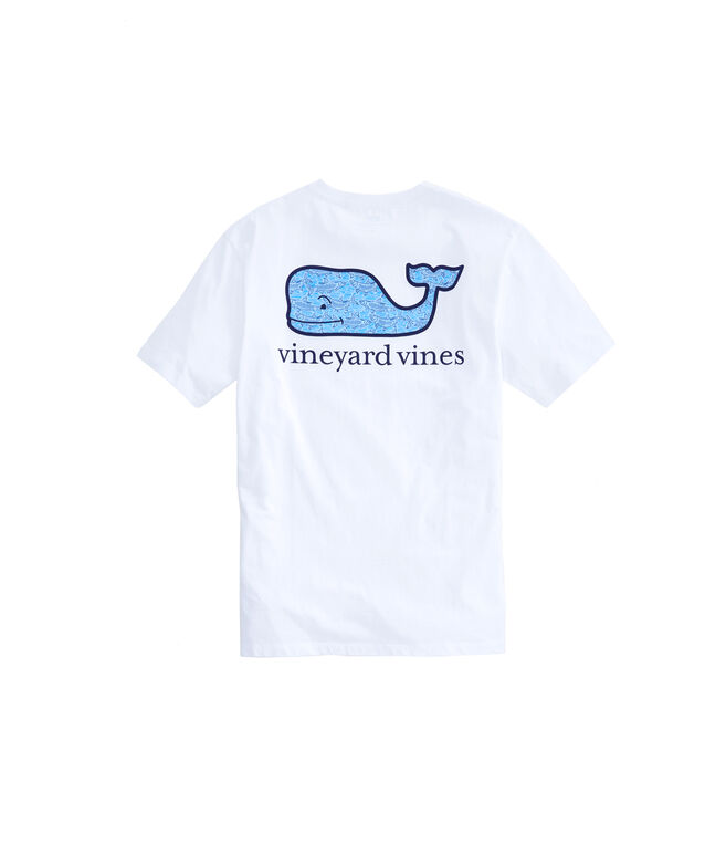 Outlet Men's Tarpon Sketch Whale Fill Short Sleeve Pocket Tee