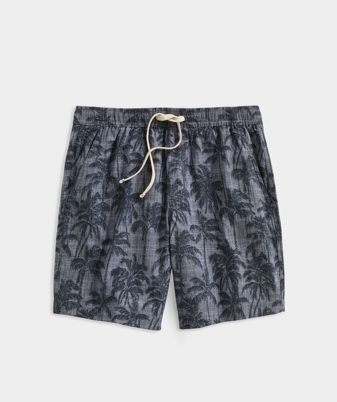 7 Inch Printed Jetty Shorts