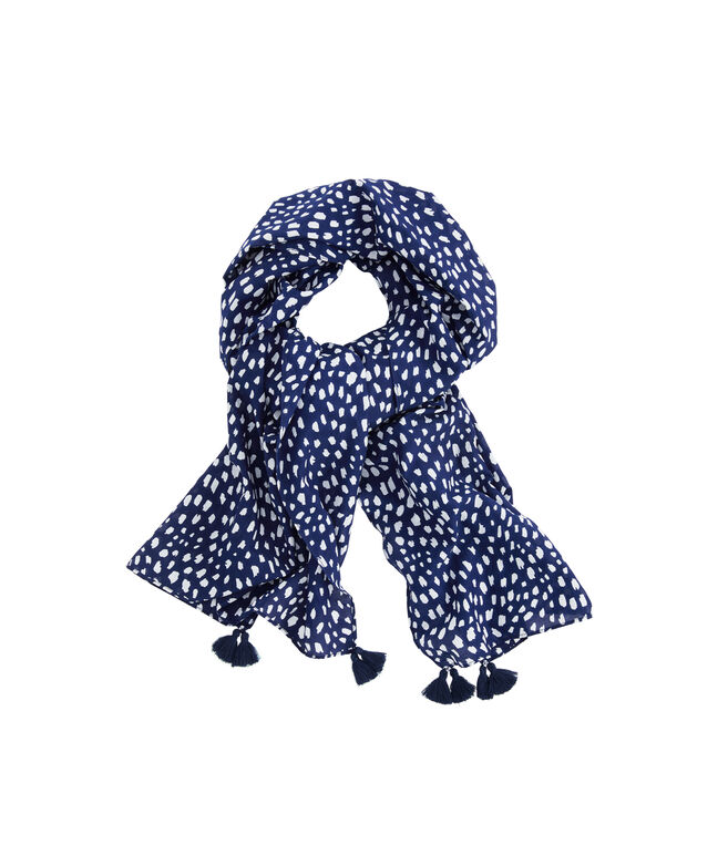 Painted Dots Scarf