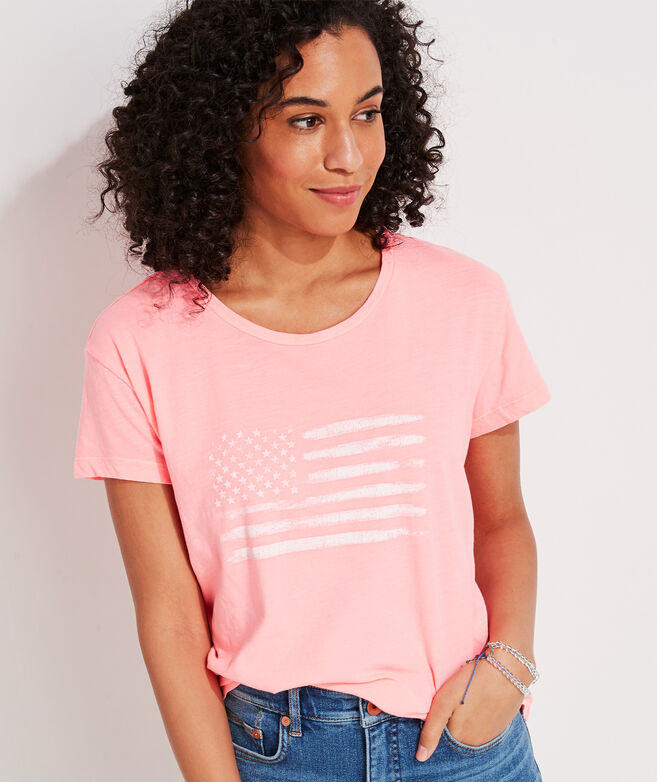 Flag Slub Vintage Short-Sleeve Tee