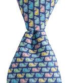 Boys Pastel Whale Tie