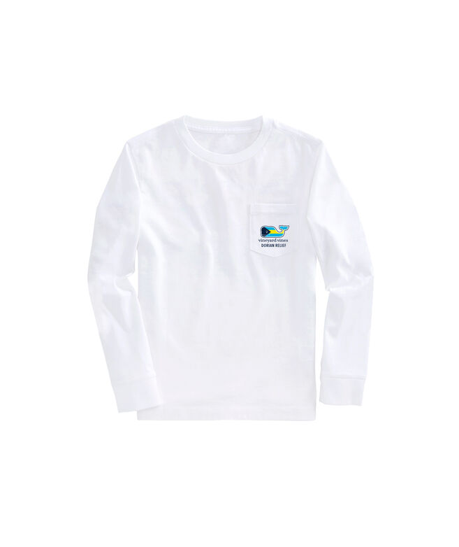 Kids Bahamas Hurricane Dorian Relief Long-Sleeve T-Shirt