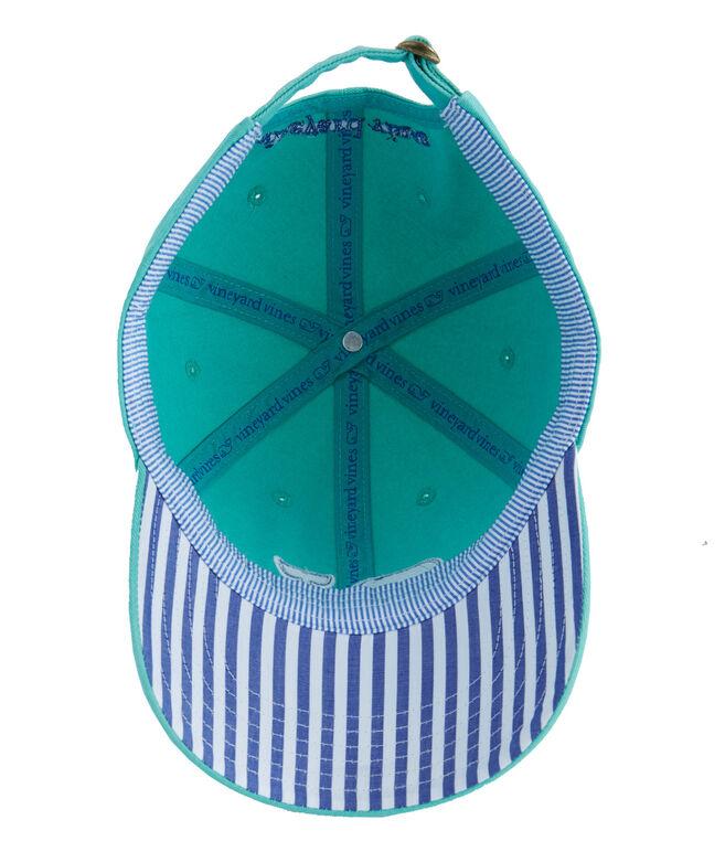 Stripe Whale Fill Baseball Hat