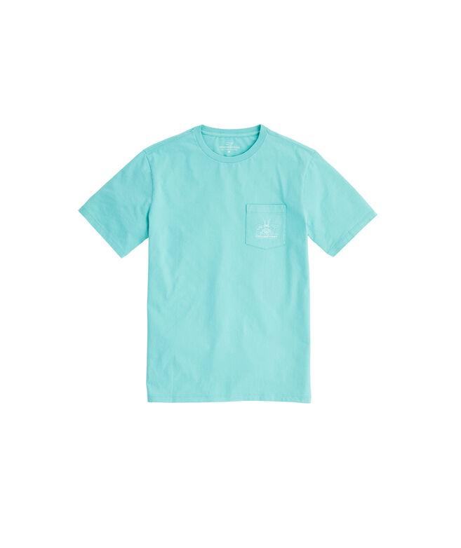 Linear Wake Pocket T-Shirt