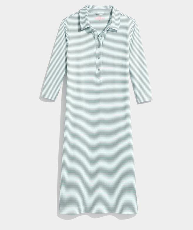 Striped Sankaty Midi Margo Shirtdress
