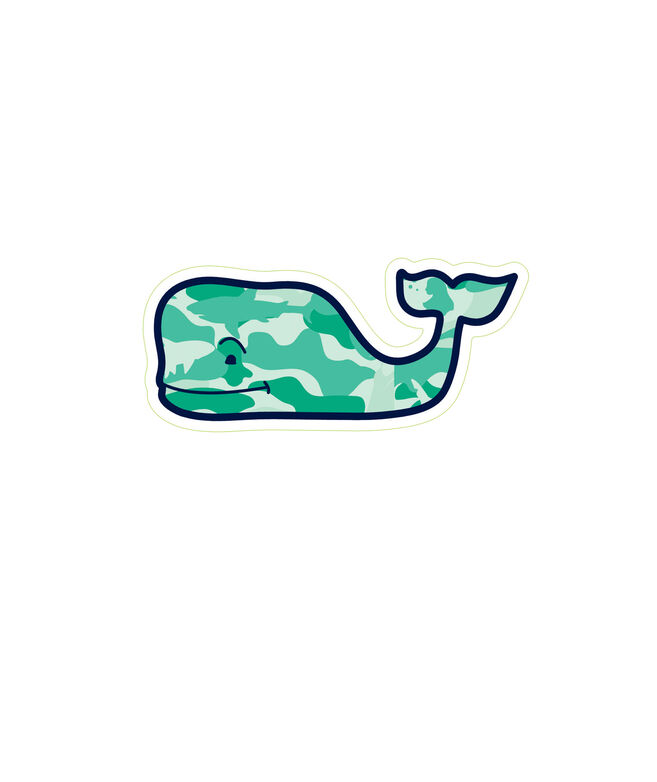 Camo Fill Whale Magnet