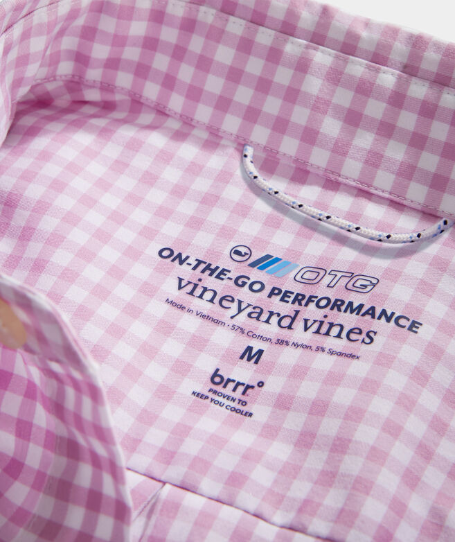 On-The-Go brrr° Gingham Shirt
