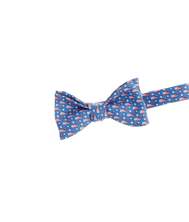 Stars & Whales Bow Tie