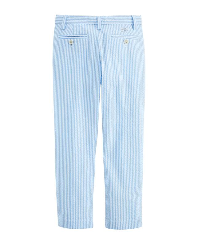Boys Seersucker Breaker Pants