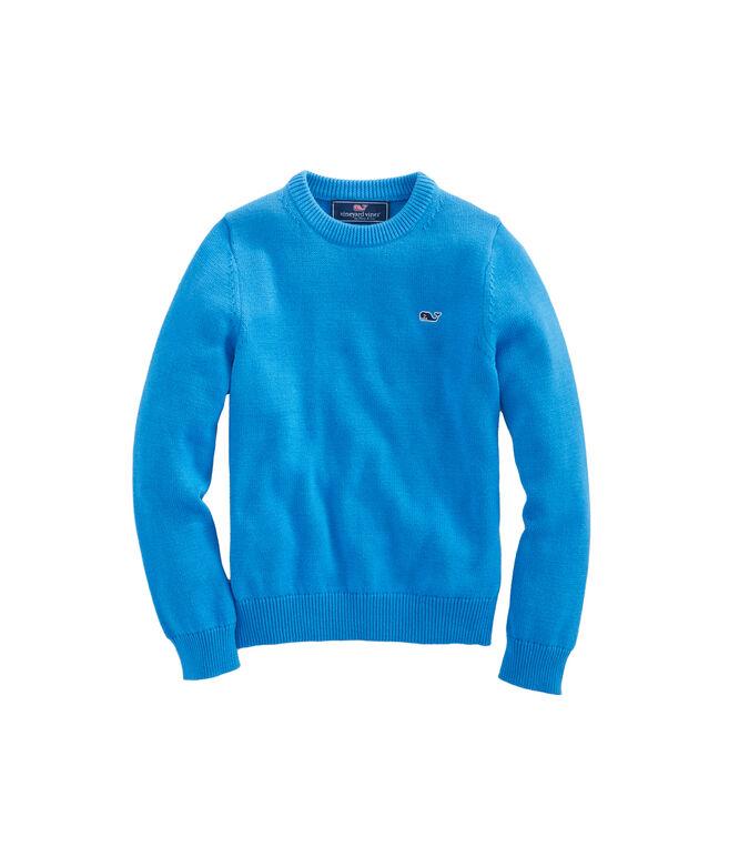 Boys Classic Crewneck Sweater