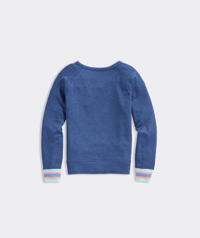 Girls' Embroidered Dreamcloth Crewneck Sweatshirt