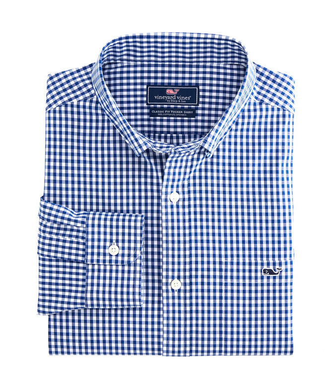 Classic Fit Arawak Gingham Tucker Shirt
