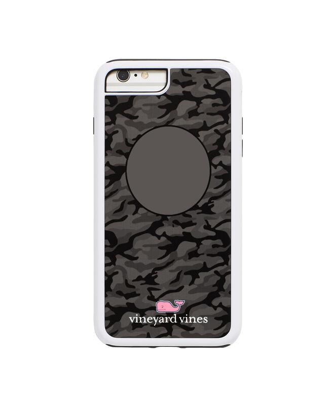 online store 56bec d1695 Monogrammed Black Camo iPhone 7 / 8 Plus Case
