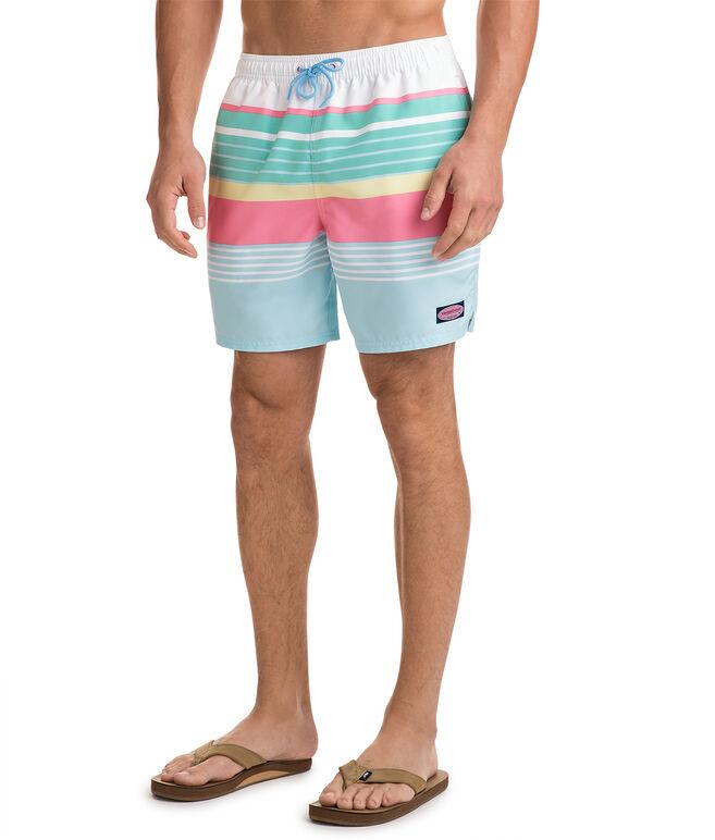 Boca Bay Stripe Chappy Trunks