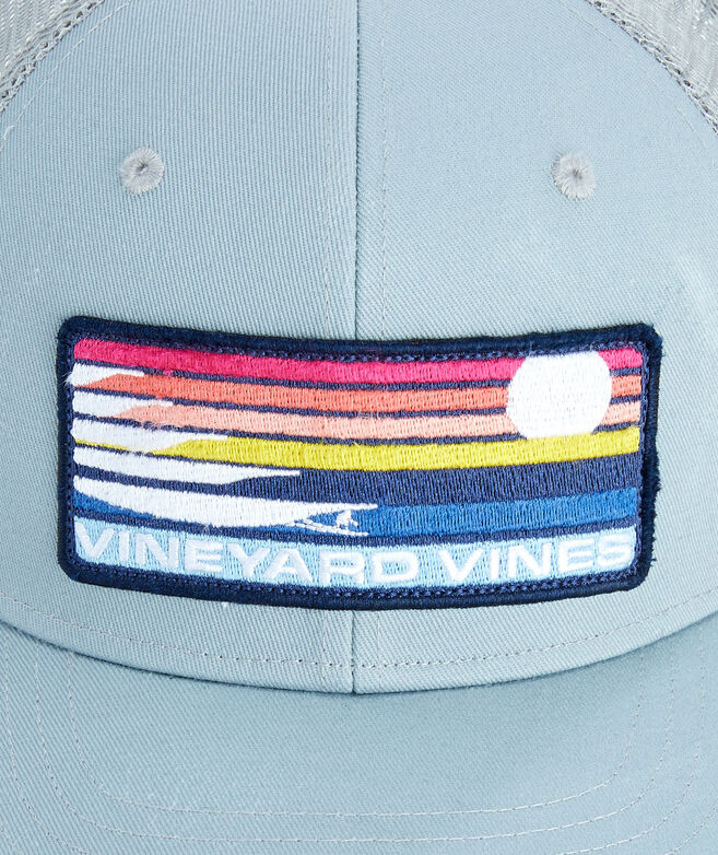 Surf Stripe Patch Trucker Hat