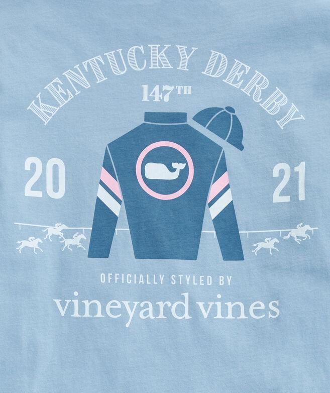 Kentucky Derby Jockey Silk Long-Sleeve Pocket Tee