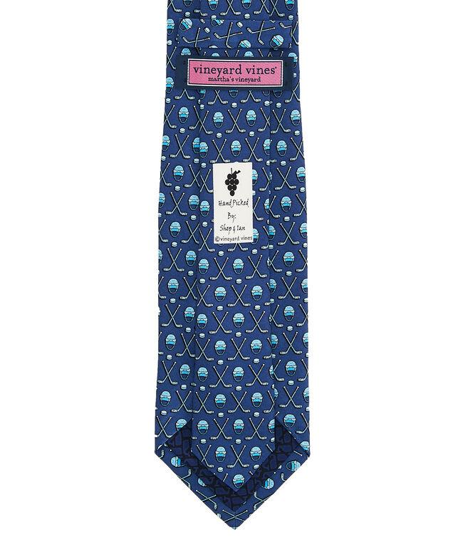 Hockey Gear Printed Tie