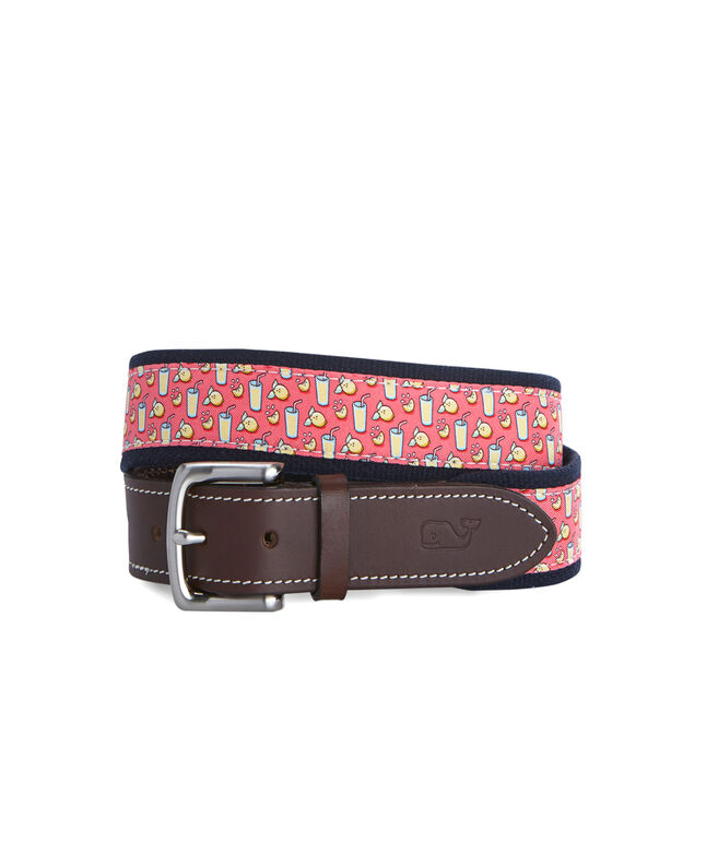 Lemonade Canvas Club Belt