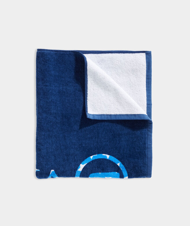 USA Whale Dot Towel