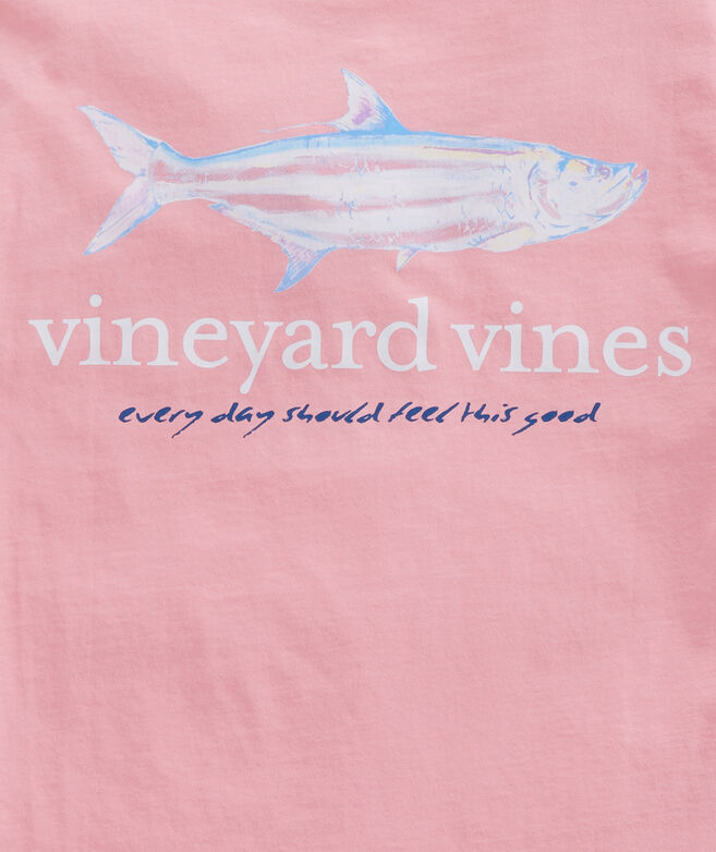 bd69b041 Shop Painted Tarpon Pocket T-Shirt at vineyard vines