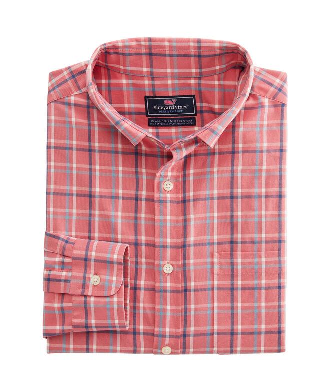 Classic Fit Bora Cotton Performance Murray Shirt