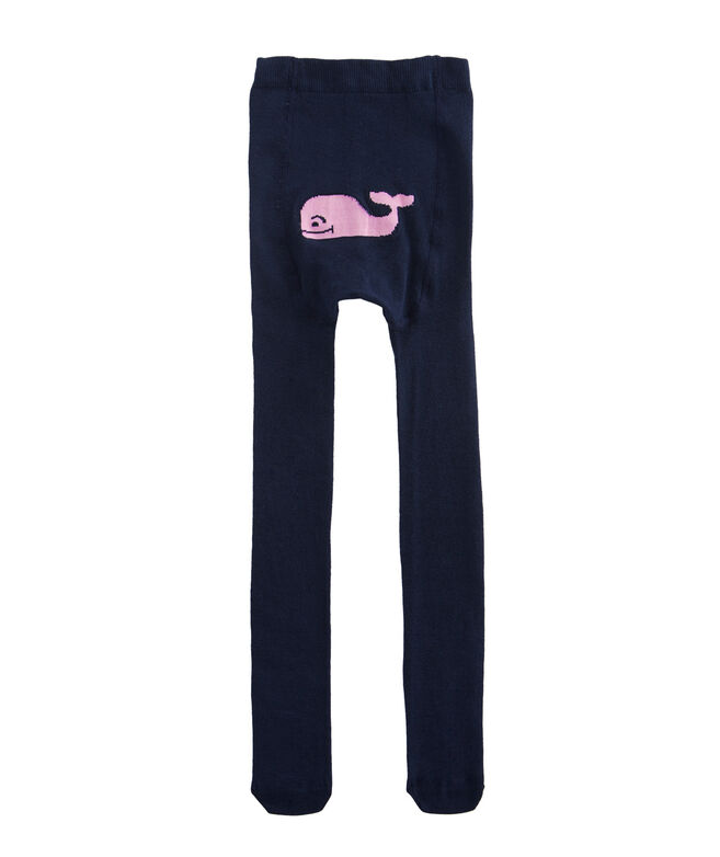 Girls Solid Whale Tights