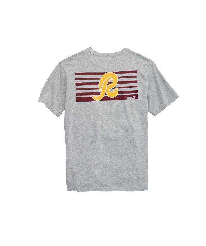 Washington Redskins Block Stripe T-Shirt