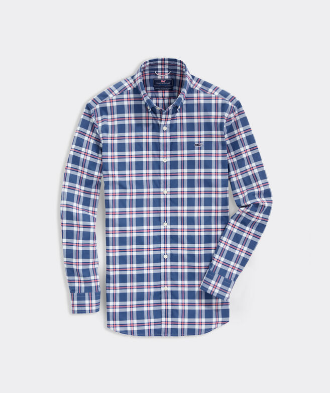 Classic Fit Huxford On-The-Go Performance Button-Down Shirt