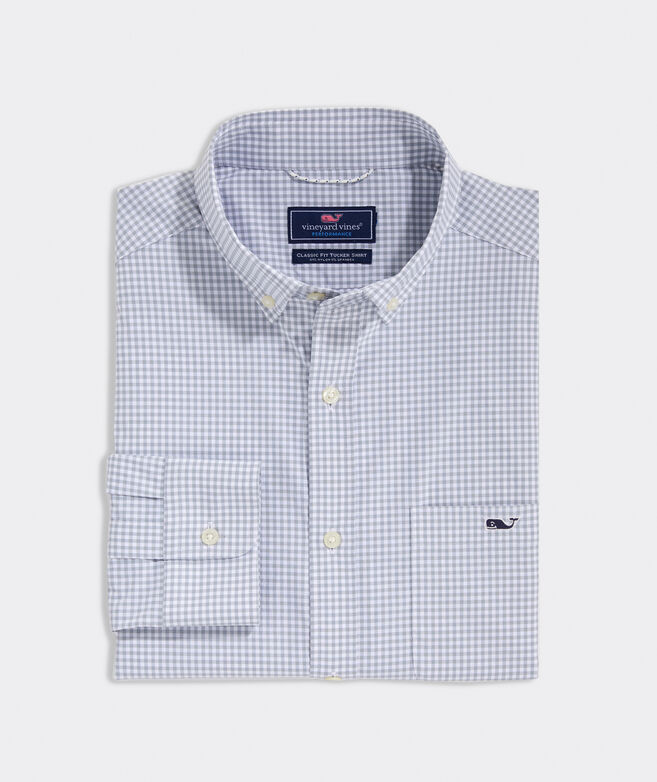 Classic Fit Reef On-The-Go Performance Tucker Button-Down Shirt