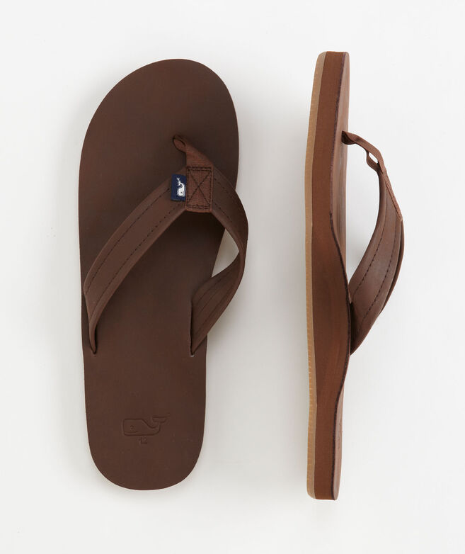 cd158599deae Shop Leather Flip Flops at vineyard vines