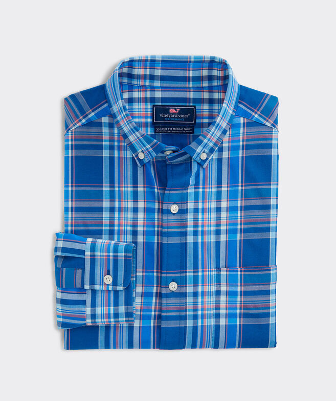 Classic Fit Palmo Performance Cotton Murray Button-Down Shirt
