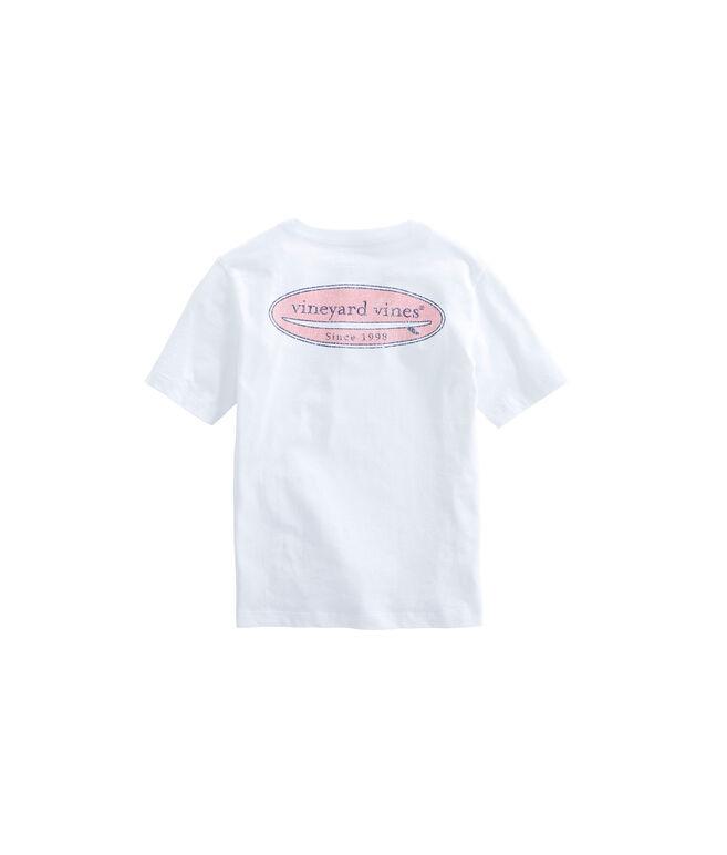 Boys vineyard vines Surf Logo Pocket T-Shirt