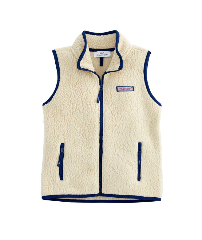 Girls Sherpa Harbor Vest