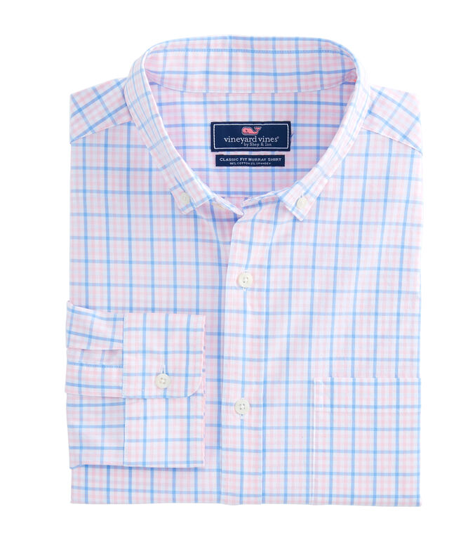 Windowpane Check Classic Murray Shirt