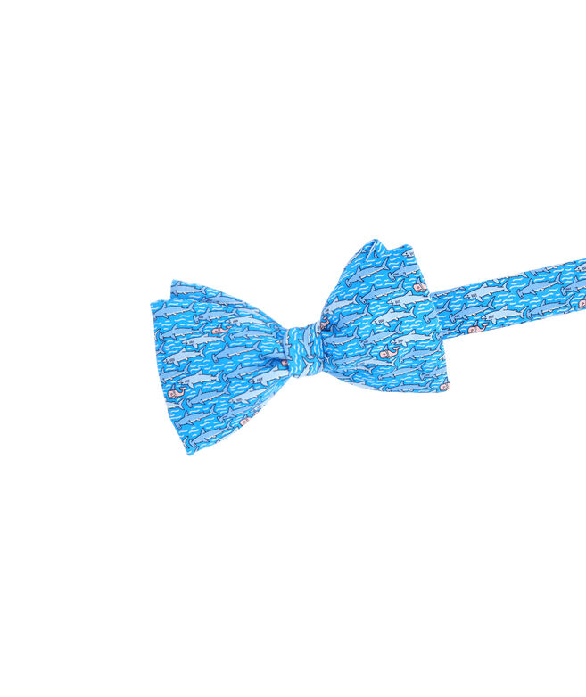 Keep Swimming Printed Bow Tie