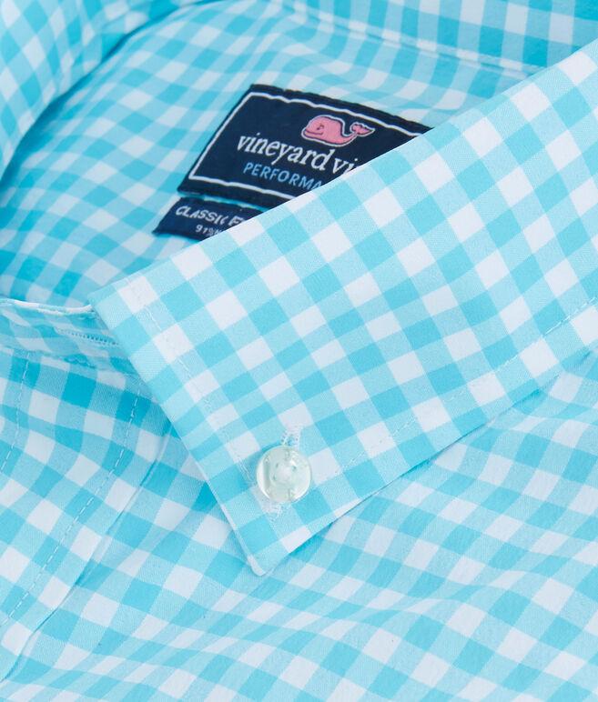 Seamont Gingham Performance Classic Murray Shirt