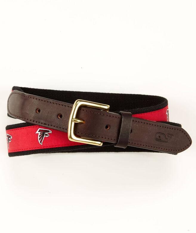 Atlanta Falcons Canvas Club Belt