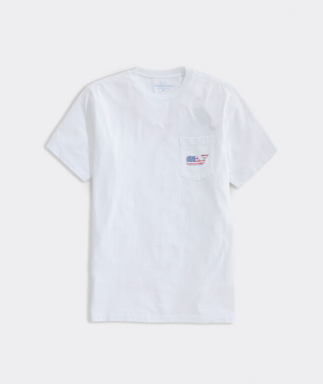Americana Whale Short-Sleeve Pocket Tee