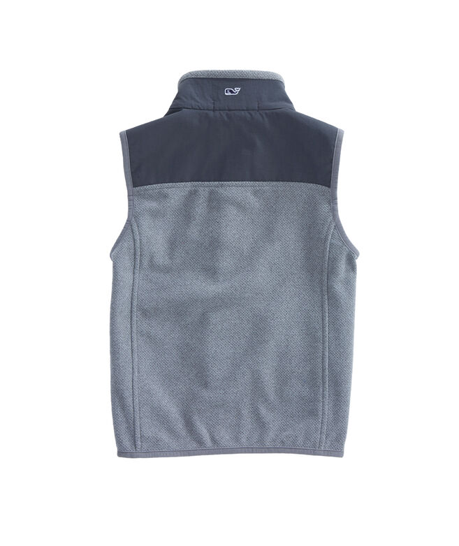 Boys Honeycomb Heritage Fleece Vest