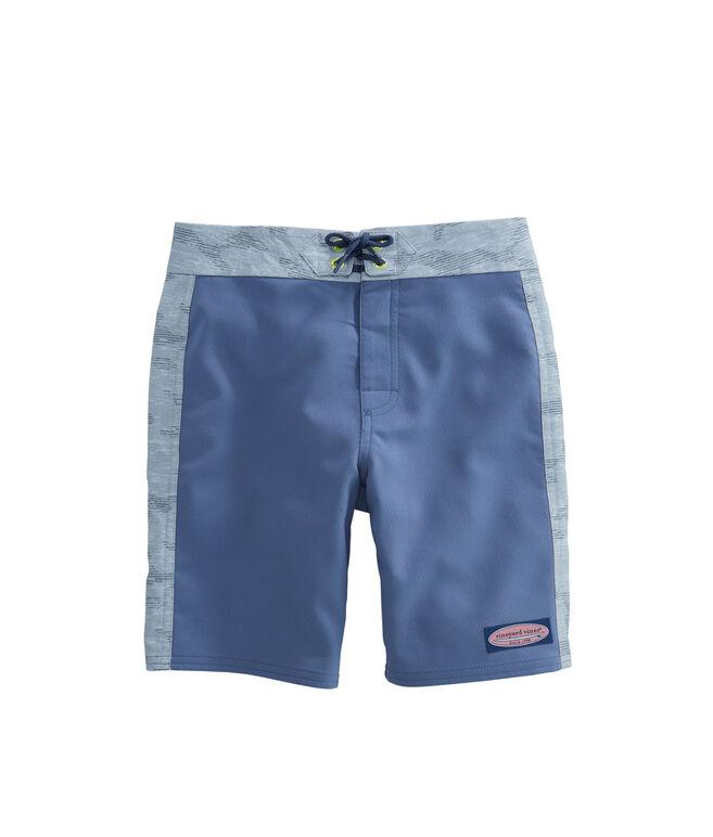 Boys Camo Pieced Board Shorts