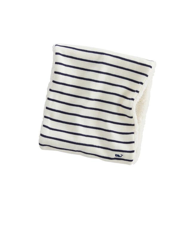 Girls Break Stripe Winter Accessory Set