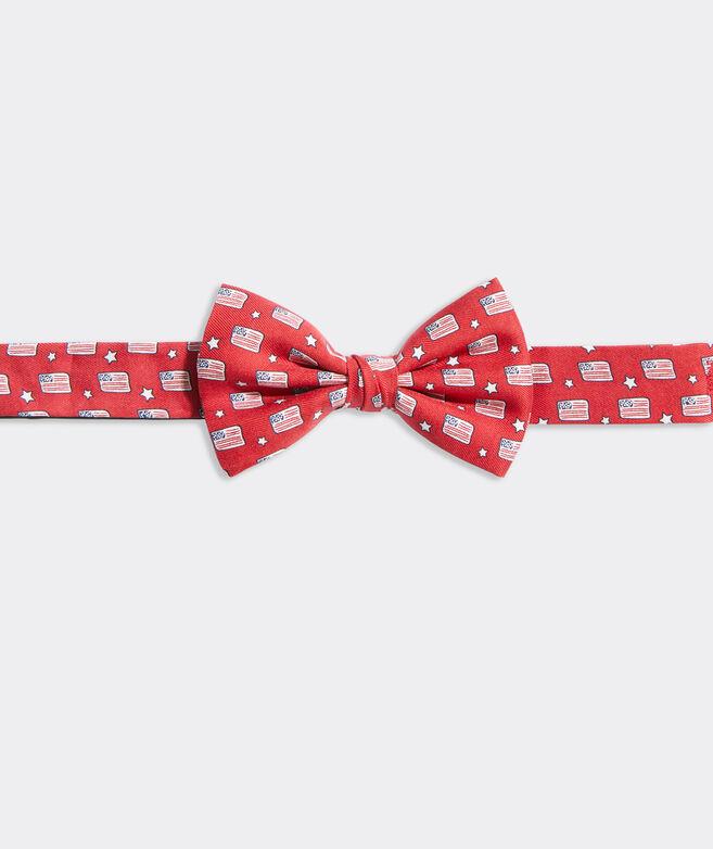 Boys' Flags & Stars Printed Bow Tie